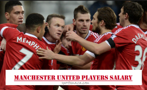 How much does Manchester United players get paid ? (Weekly Wages)