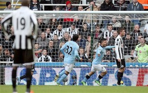 Manchester city destroyed Newcastle United by 6 – 1  (3 October, 2015)