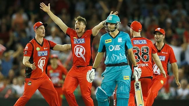 Brisbane Heat Vs Melbourne Renegades
