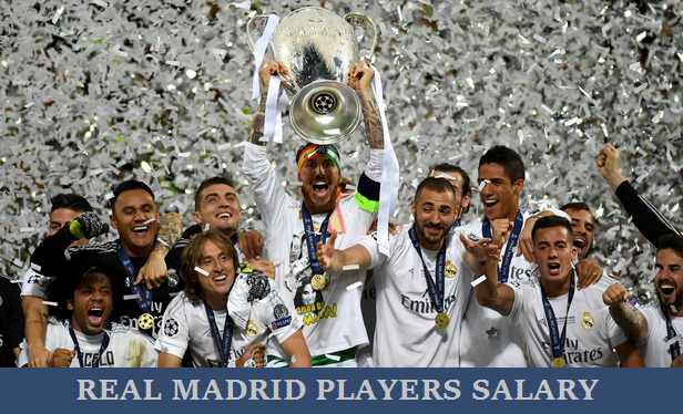 Real Madrid players salary