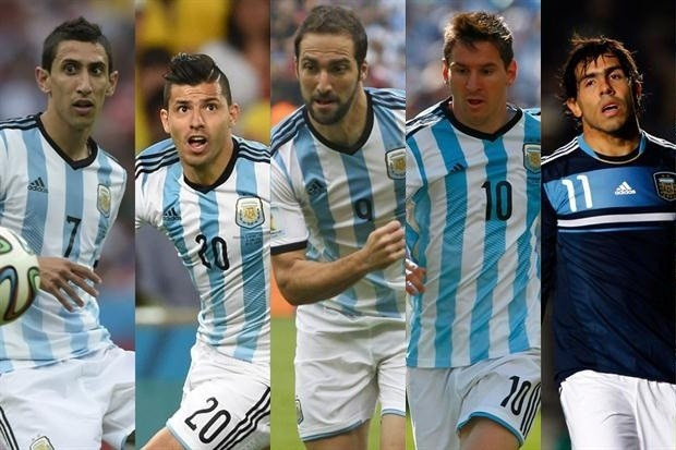 Argentina forwards