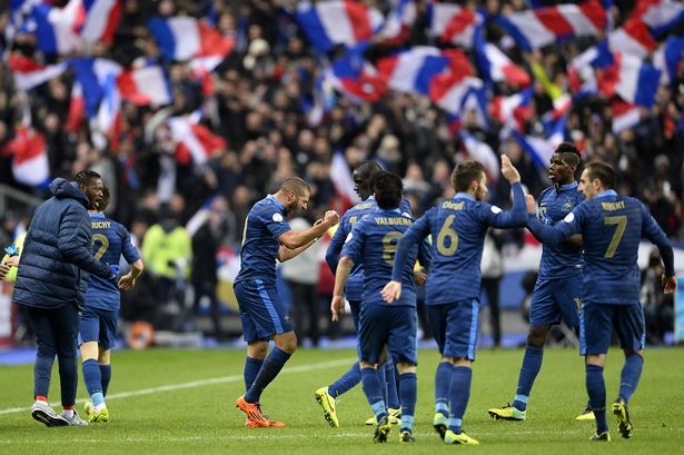 Possible Champion of UEFA Euro 2016 - France