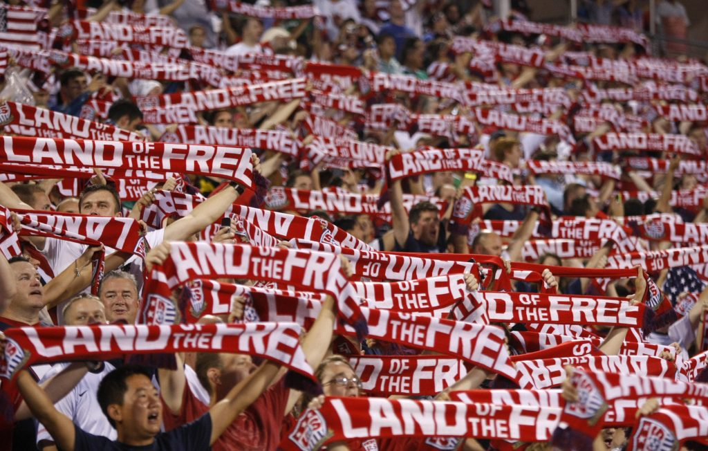Image of USA Supporters