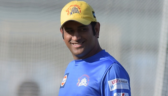 MS Dhoni the Captain of Rising Pune Supergiants