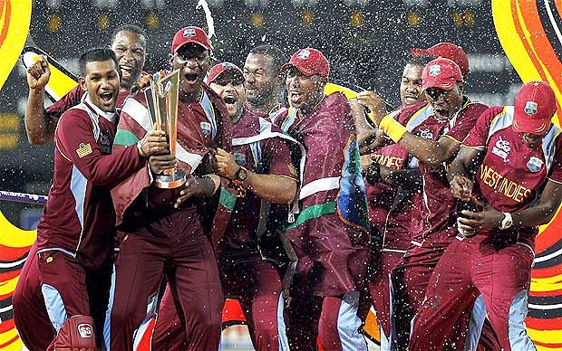 West India 2012 T20 world cup Winning Celebration
