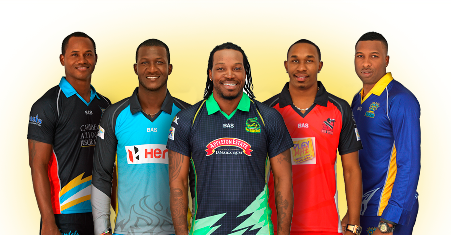 All team squad of CPL T20 2017 (Caribbean Premier League)