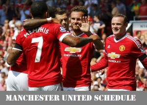 Manchester United 2017 Pre-Season tour Schedule to China (Released)