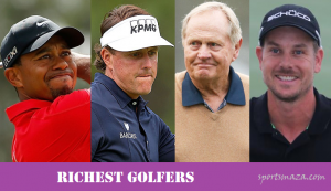 Top 10 richest Golfers & their income report (All-time)