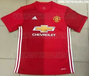 Manchester United All Three Kits 2016-17 (Leaked)