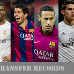 Top 50 Most expensive club transfers in football history (+Fee)