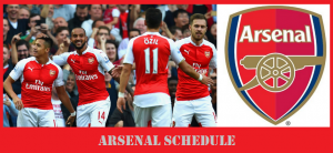 Arsenal FC 2017 Pre-Season Friendlies Schedule (Emirates Cup & USA Tour Matches)