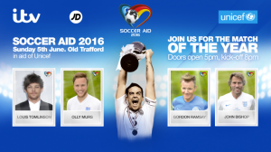 Unicef Soccer Aid 2017: Date, Kickoff, Players Lineup, Managers & Ticket