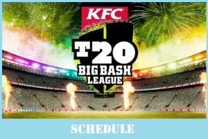 2017-18 Big Bash Full Fixture [+Time, Date, Venue]