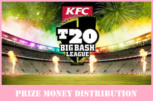 How much Prize Money offered in 2017-18 Big Bash (Winner & Hole Distribution)