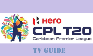 Worldwide TV Channel Broadcaster of CPL 2016 (Sony Six Coverage in India)
