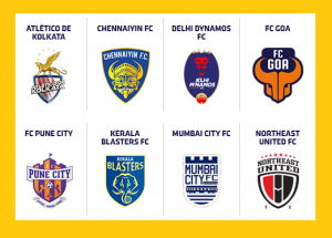 All Clubs team squad of Hero Indian Super League