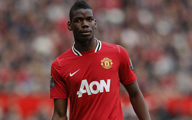 Pogba in Man Utd