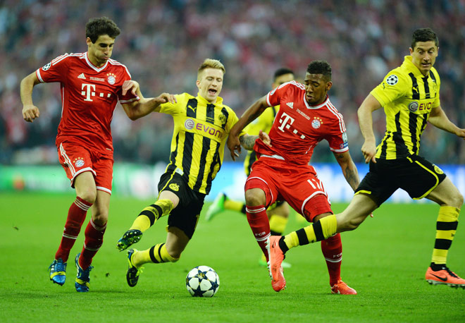 dortmund vs bayern highlights