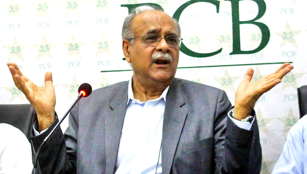 Najam Sethi denies preventing FIA from investigating the spot-fixing allegations