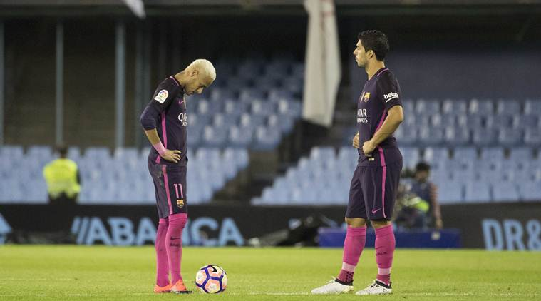 Barca lost by Celta