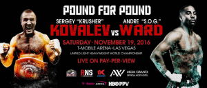 Sergey Kovalev Vs Andre Ward fight Live Watch online [19-11-2016]