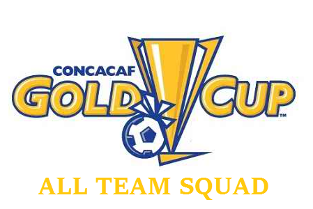 team squad of CONCACAF Gold cup