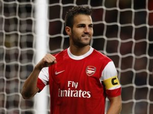 Arsenal plotting to resign Chelsea star Cesc Fabregas in January