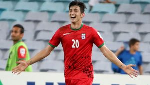 Rostov striker Sardar Azmoun would consider move to Liverpool in January