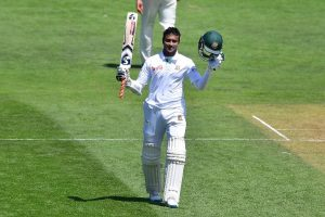 Bangladesh team all-rounder Shakib Al Hasan conferring his career best ranking