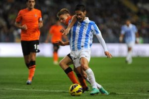 Malaga faced 3rd consecutive league defeat against Real Sociedad