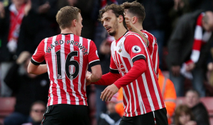 Gabbiadini's debut match goal couldn't prevent the defeat for Southampton