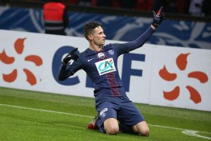 PSG put 4 goals in Rennes net to secure a place in the next round
