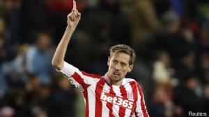 Veteran Crouch again on the score sheet for Stoke City