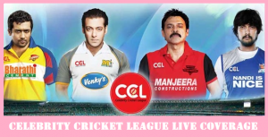 Celebrity Cricket League 2017 Watch Live online