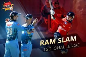 Titan win the trophy of Ram Slam T20 Challenge 2015