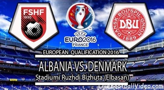 Albania Vs Denmark