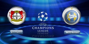 Bayer Leverkusen detroyed BATE Borisov by 4 – 1 on Champions League