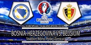 Belgium Vs Bosnia and Herzegovina – UEFA Euro 2016 Qualifying