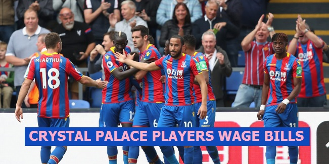 Crystal Palace Players Salary