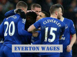 Everton Players Salaries 2017-18 [Romelu Lukaku paid £90,000 in a week]