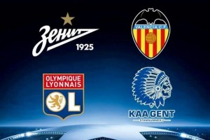 KAA Gent and Lyon Champions League match finished with 1 – 1 Draw
