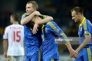 Ukraine won by 3 – 0 against Belarus – UEFA Euro 2016 Qualifying