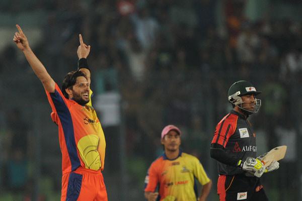Shahid Afridi on BPL T20