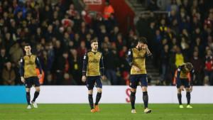 Southampton destroyed Arsenal by 4 goal