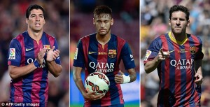 Barcelona never sale MSN