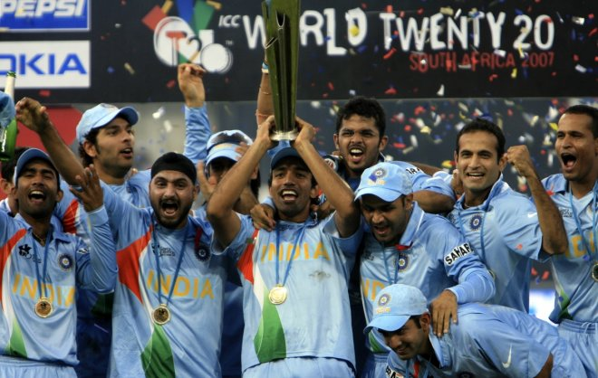 2007 T20 world cup won India