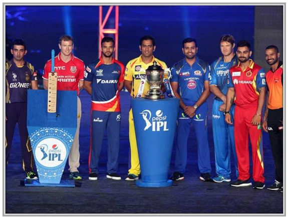 Captains of IPL 2015