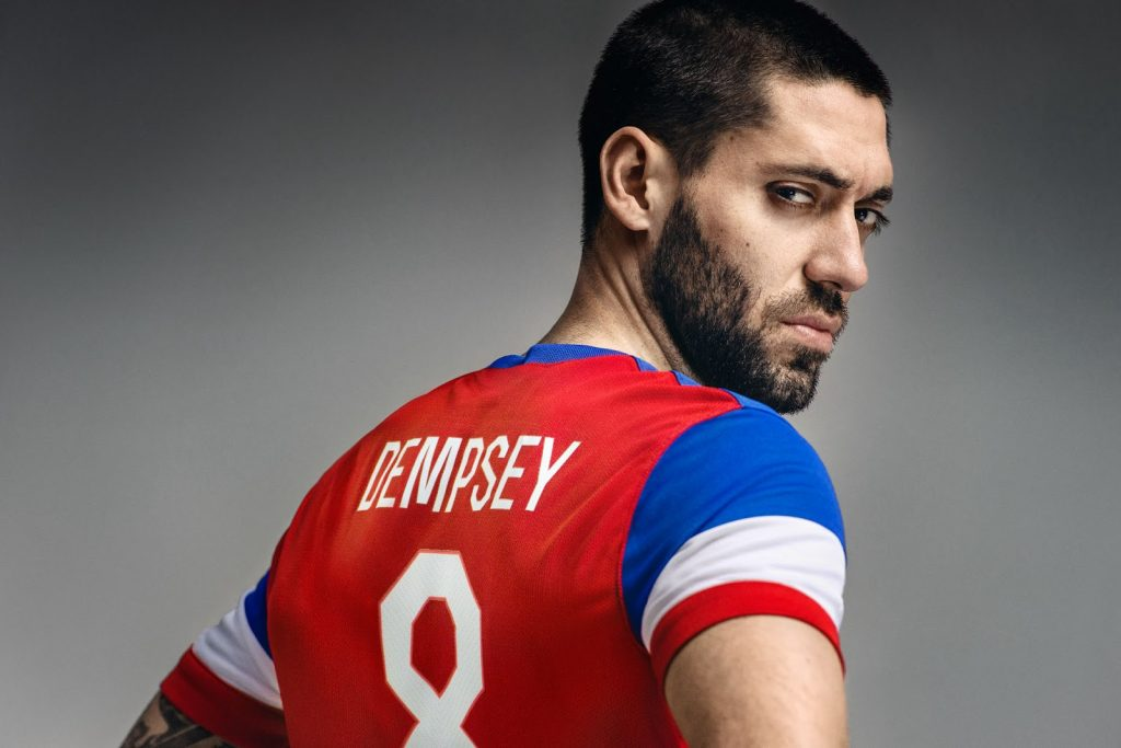 Clint Dempsey - Icon footballer of USA