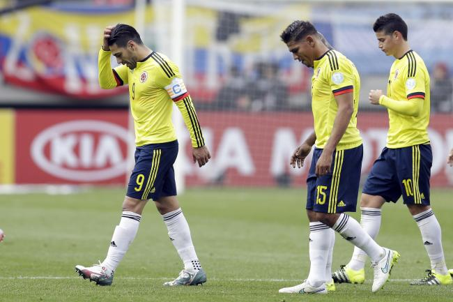 Colombian last image of Copa America 2015