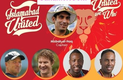 Islamabad United team squad